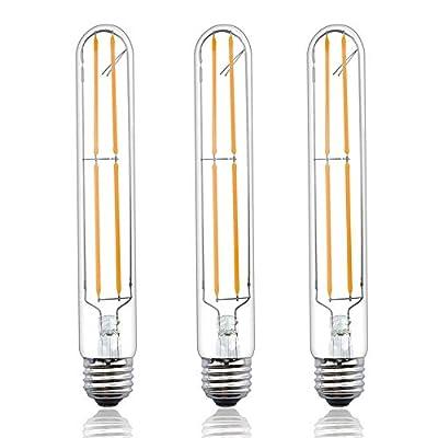 Lustaled Dimmable T10 Tubular LED Filament Bulbs