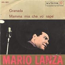 Granata (Vinyl LP 45 giri) Granada Mamma mia che vò sapé