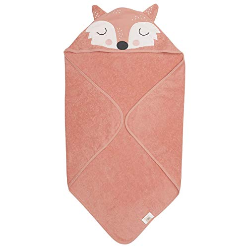 Södahl Organic Hooded Baby Towel, Frida Fox