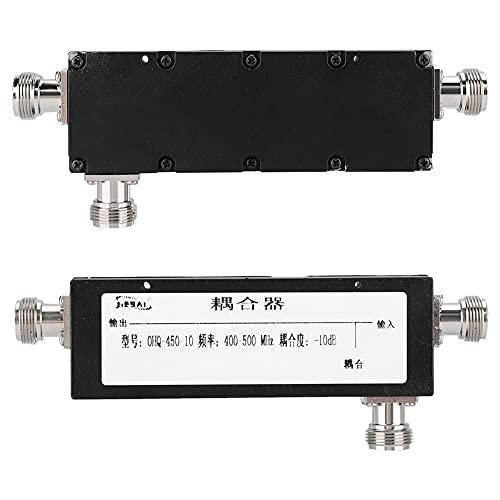 Weikeya Negro 10dB Acoplador, con Metal Norte-F ≤ 1.3db Coaxial Video Cables