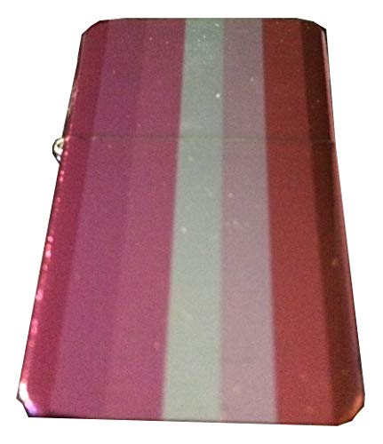 Lesbian Flag Windproof Lighter - LGBTQ