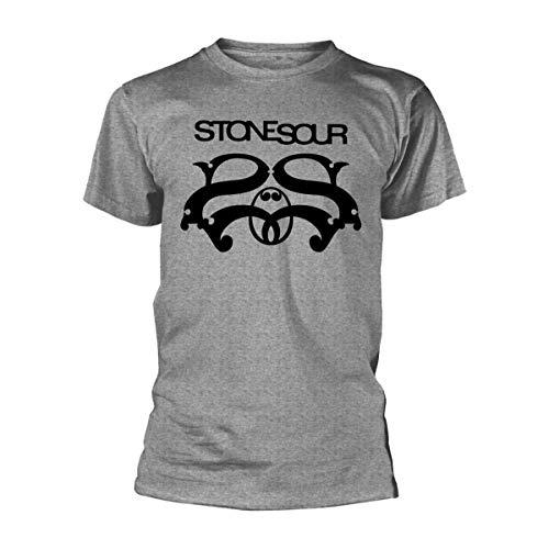 Tee Shack Stone Sour Corey Taylor Logo Ufficiale Uomo Maglietta Unisex (X-Large)