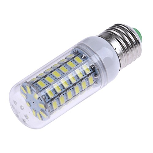 everpert 220V-240V E27 LED SMD 5730 LED helle Lampe Mais-Birne weißes Licht (69SMD)