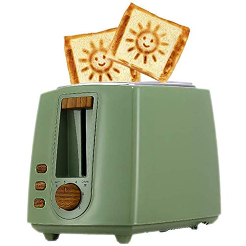 Best Price Toaster Toaster 2 Slices, Retro Small Toaster with High-Lift and Wide Slots, Defrost/Rehe...