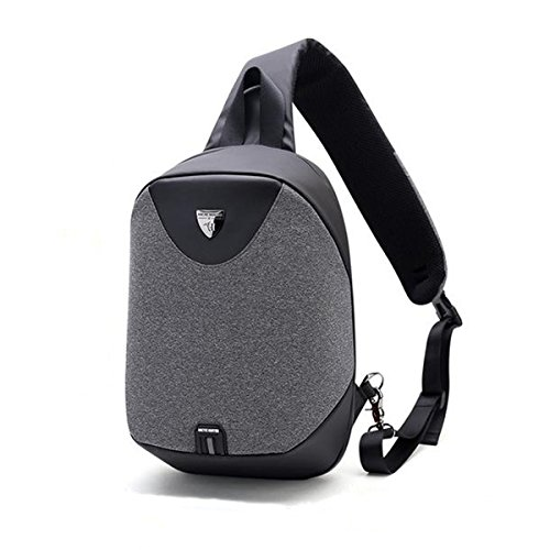 Single Strap Backpack for iPad,Anti Theft Cross Body Bag,Small Backpack for men …