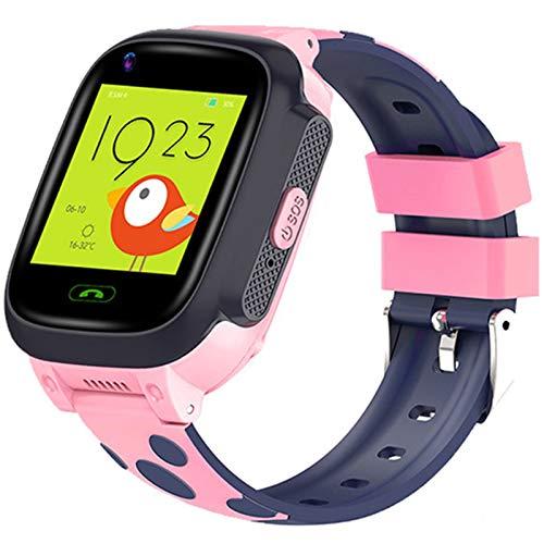 Smartwatch Telefono Per Bambini Ragazzi Ragazze 4G WIFI LBS GPS Tracker SOS Orologio Intelligente Musica Macchina Fotografica Giocatore Previsioni Meteo Voice Chat Sveglia Natale Compleanno Regalo,B