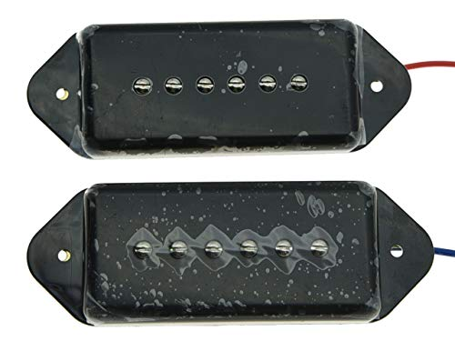 Black P90 High Power Sound Neck Bridge...