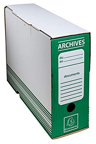 Exacompta arkivlåda – grön