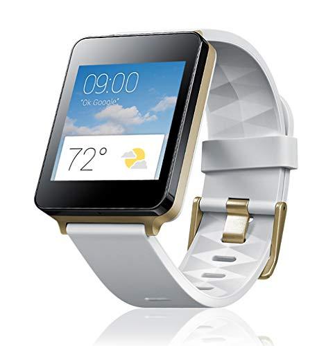 LG G Watch (1,2-GHz-Qualcomm-Prozessor, 4GB Speicher, Bluetooth 4.0) weiß