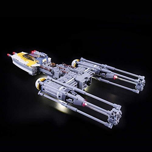 Kit De Iluminación En (Star Wars ala-Ataque De Cazas) Bloques De Construcción De Modelos - Kit Luz Led Compatible con Lego 75172 (No Incluido El Modelo)