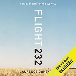 Flight 232 audiobook cover art