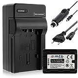 Batteria + Caricabatteria (Auto/Corrente) per VW-VBT380 / Panasonic HC-VX989. / HC-W570, W850, WX979. v. lista! con Infochip