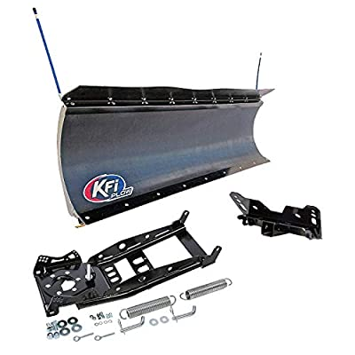 "KFI 66"" UTV Pro-Poly Blade Snow Plow Kit for Can-Am Commander 800 1000"