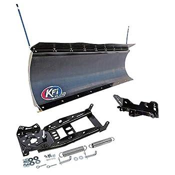 KFI 66  UTV Pro-Poly Blade Snow Plow Kit for John Deer Gator XVU 550 560 560E 590E 590i 590M  All