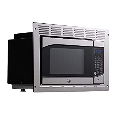 Tough Grade RV/Camper Microwave .9 CuFt | Stainless Steel