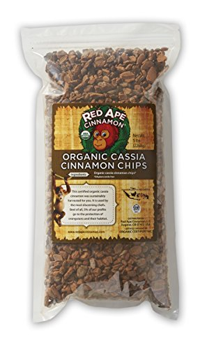Red Ape Cinnamon Organic Cassia Cinnamon Chips, 1 Pound