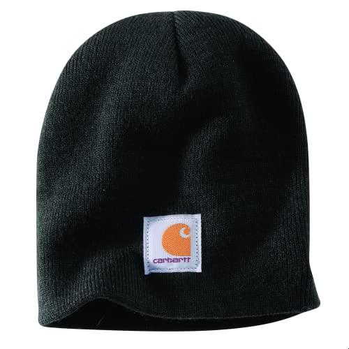 Carhartt Men's Knit Beanie, Black, One Size
