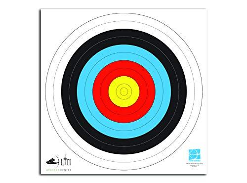 WA - Discos de papel para tiro con arco Recurve y arco compuesto (incluye pegatinas)