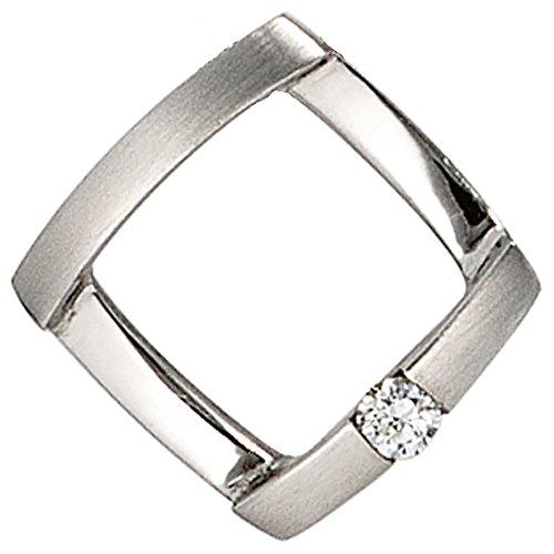 JOBO Damen-Anhänger aus 950 Platin mit Diamant