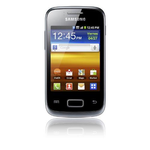 Samsung Galaxy Y Duos GT-S6102 7,98 cm (3.14 ) Doppia SIM Nero, Grigio 1300 mAh