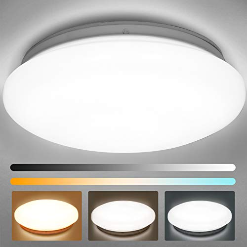 Albrillo LED Flush Mount Ceiling Light, 150 Watt Equivalent 1400lm, Ceiling Light Fixture for Closet...