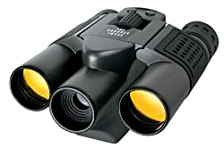 The Sharper Image 10x25 Camera Binoculars