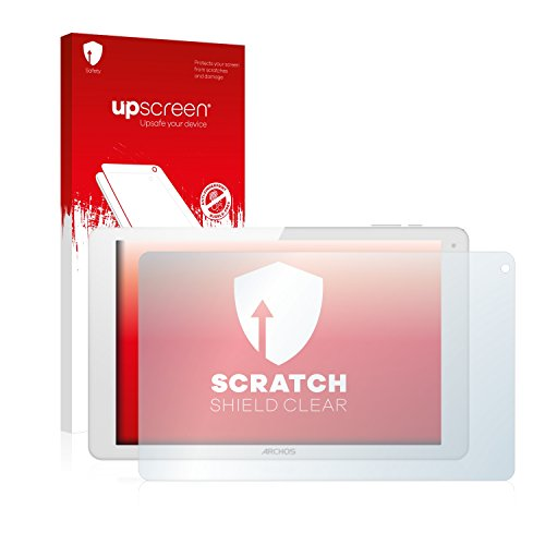 upscreen Schutzfolie kompatibel mit Archos 101b Xenon – Kristallklar, Kratzschutz, Anti-Fingerprint