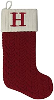 letter h christmas stocking