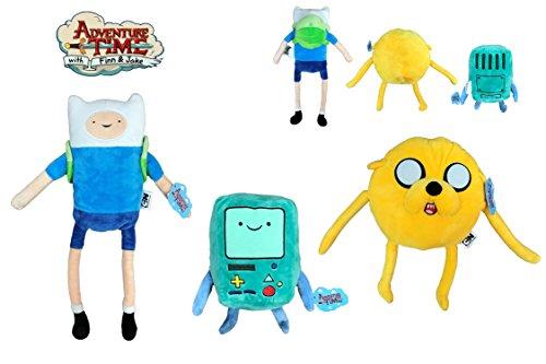 ATAT-1 Hora Aventura (Adventure Time) - Pack de 3 Peluches