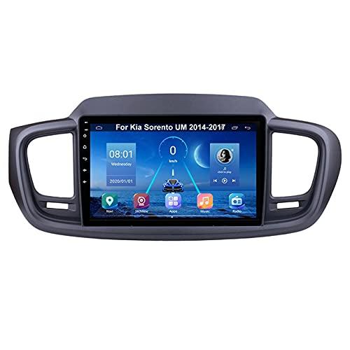 Android Autoradio 9 Pulgadas Coche Radio De Coche Pantalla Tactil Para Kia Sorento UM 2014-2017 Para De Coche Conecta Y Reproduce Autoradio Mit Bluetooth Freisprecheinrichtung