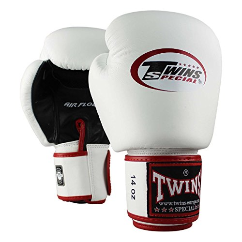 TWINS Boxhandschuhe, Leder, AIR, schwarz...