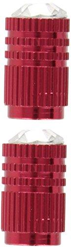 Bottari 60771 Cristal Cubriválvula, 2 Piezas, Color Rojo