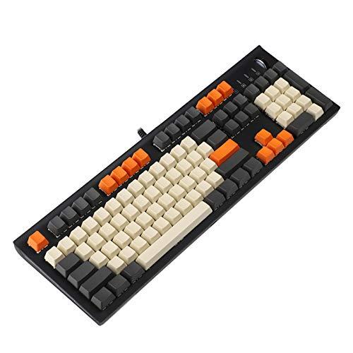 YMDK カーボン モデル:104 Blank Keyset ボタンのみ Thick PBT OEM Profile Keycaps MX メカニカルキーボード B079