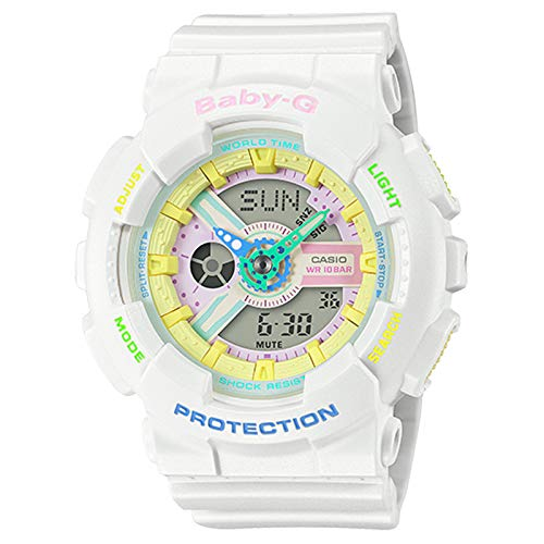 G-Shock BA110-7A。 One Size ホワイト