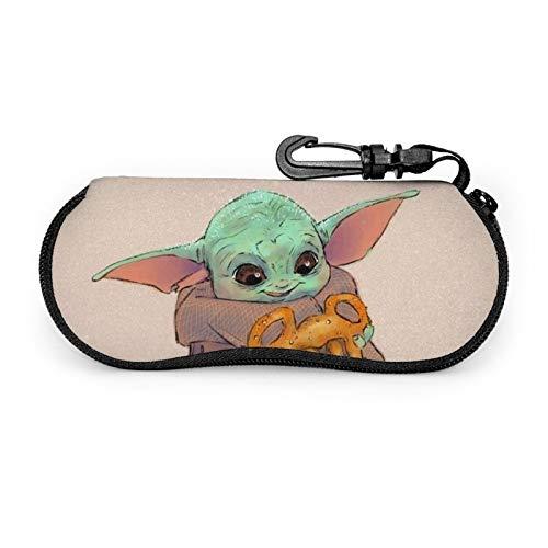 Pretty Socks Nettes_Baby_Yoda - Funda para gafas de sol blandas con cremallera
