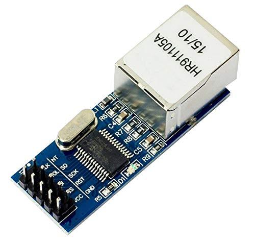 MissBirdler Mini SPI I2C Ethernet LAN Netzwerk Modul ENC28J60 für Arduino Raspberry Pi