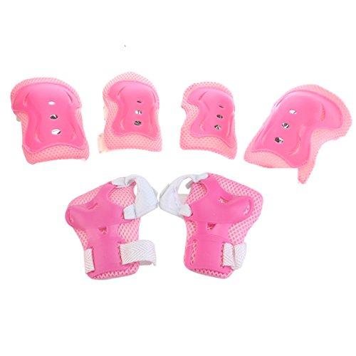 Patins à roulettes pour enfants Genou Genou Genou Knee Shoes Gants de protection Ensemble de protection