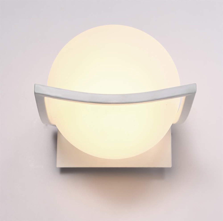 Kreative schlafzimmer nachtwandleuchte runde moderne gang flur wandleuchte lampen E27 220 (V)