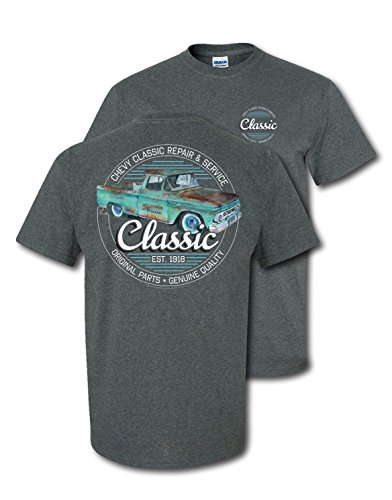 Chevrolet Classic Repair and Service T-Shirt Grey