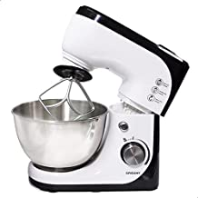 Grouhy Eh.G-0285005-SW.E Mixer With Bowl - 1000 Watt, White Black
