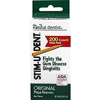 Stim-U-Dent Plaque Value Pack Removers, Mint by Stim-U-Dent [並行輸入品]