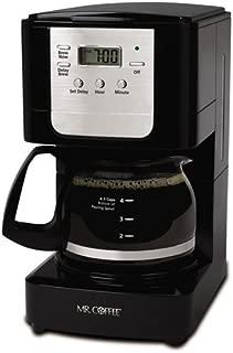 Mr Coffee JWX3GTF Program Coffee Maker, 5 Cup, Black