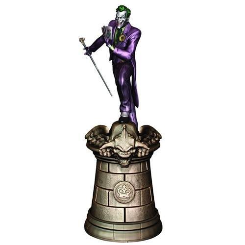 Dc Superhero Chess Collection Magazine #2 Joker Black King by Eaglemoss
