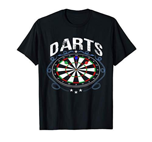 Lustiges Dart T-Shirt Geschenk Für Dart Spieler Dart Shirt T-Shirt