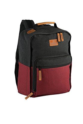 Nomad College Daypack Rucksack, 43 cm, 20 L, Deep Red/Phantom