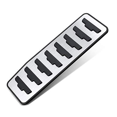 N\A Pedali per Auto for la Gamma Accessori Auto Evoque 2012-2019 Copertura poggiapiedi Car-Styling Auto acceleratore Freno Pedale della Frizione del poggiapiedi del Pedale Piastra di Copertura