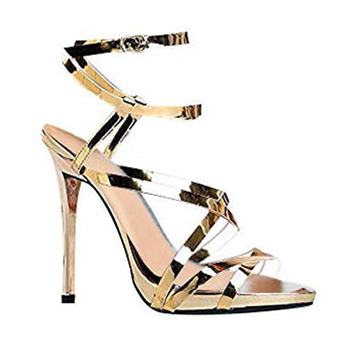 Strappy High Heel Sandal 10