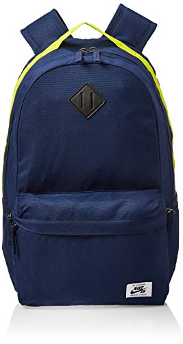 Nike  Sb Icon Backpack Unisex Backpack - Midnight Navy/Bright Cactus/Bl, One size