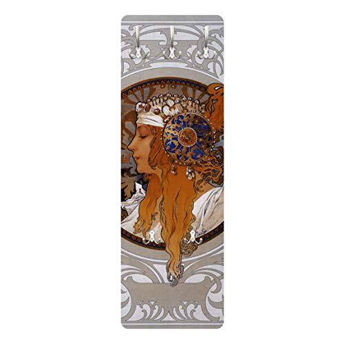 Perchero - Loren 139x46x2cm, percheros, Perchero de Pared,...