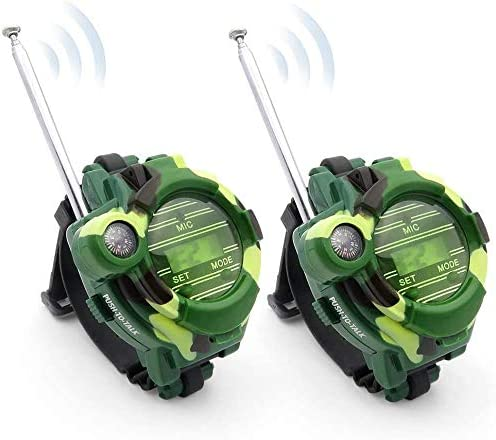 WOCY Walkie Talkies Watch for Kids Long Range Walky Talky Toy Watches Outdoor for Children Boy product image